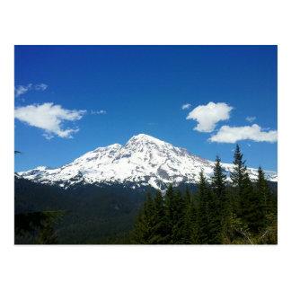 Le mont Rainier Carte Postale