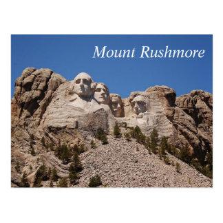 Le mont Rushmore - carte postale