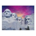 Le mont Rushmore, présidents du Dakota du Sud, Eta Carte Postale