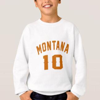 Le Montana 10 conceptions d'anniversaire Sweatshirt