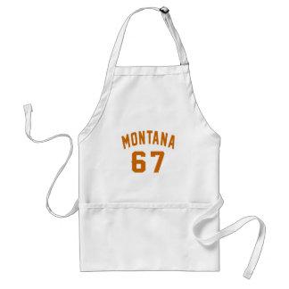 Le Montana 67 conceptions d'anniversaire Tablier
