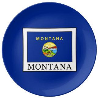 Le Montana Assiette En Porcelaine