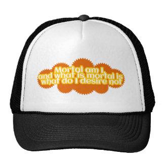 Le mortel suis moi chapeau casquettes