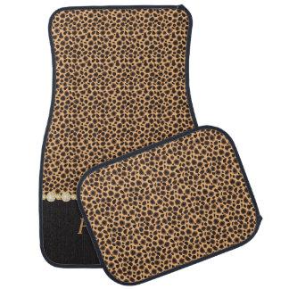 Le motif élégant | de diamant de guépard tapis de voiture