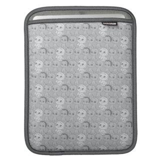 Le motif gris du bébé | de patron poches pour iPad