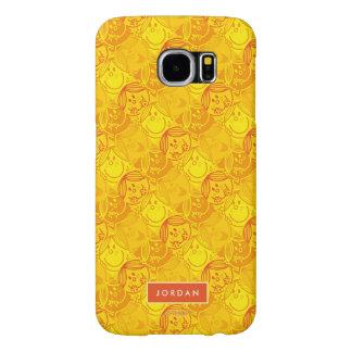 Le motif jaune ensoleillé | ajoutent votre nom