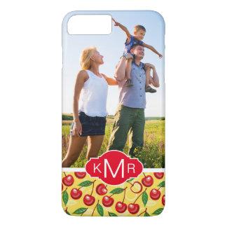 Le motif mignon   de cerise ajoutent votre photo coque iPhone 8 plus/7 plus