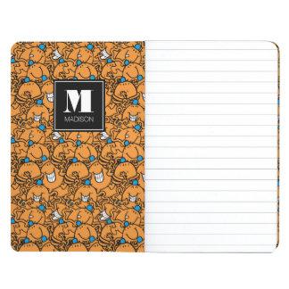 Le motif orange   de chatouillement de M. Tickle   Carnet De Poche