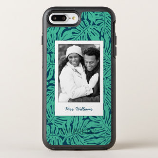 Le motif tropical | de feuille ajoutent votre coque OtterBox symmetry iPhone 8 plus/7 plus