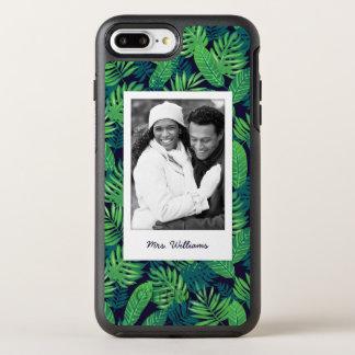 Le motif tropical | de feuille ajoutent votre coque otterbox symmetry pour iPhone 7 plus