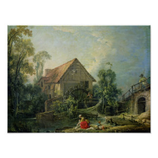 Le moulin, 1751 posters