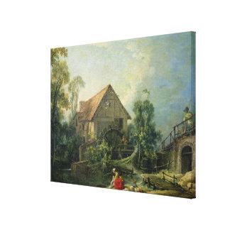 Le moulin, 1751 toiles