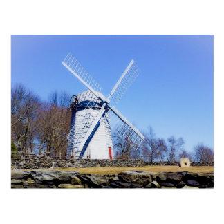 Le moulin à vent de Jamestown a construit en 1789 Carte Postale