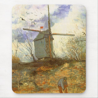 Le Moulin Galette par Vincent van Gogh, moulins à Tapis De Souris