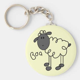 Le mouton indique le T-shirts et les cadeaux de bê Porte-clé Rond