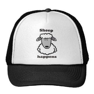 Le mouton se produit casquette de camionneur