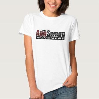 Le mouvement d'Agg Swagg - le T-shirt des femmes