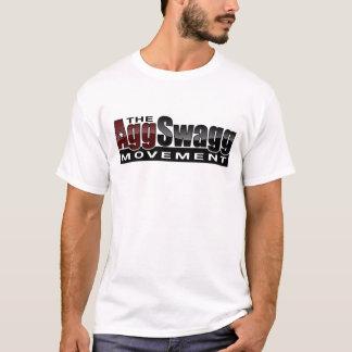 Le mouvement d'Agg Swagg - le T-shirt des hommes