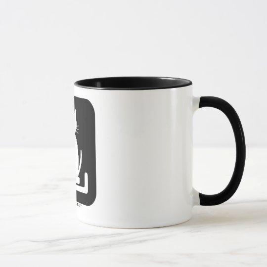 """Le mug officiel de """"La Litière du Chat"""""""