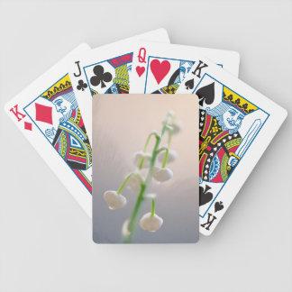 Le muguet dans le croquis de bourgeon jeux de cartes