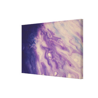Le mur abstrait Art-Pourpre versent Toiles