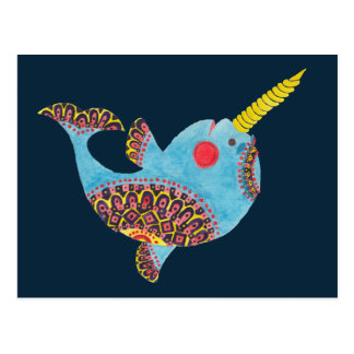 Le Narwhal Carte Postale