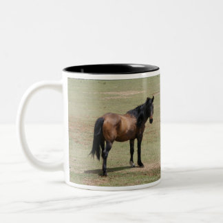 Le Navajo Mustang SAVE par VIE ADOPTENT une tasse