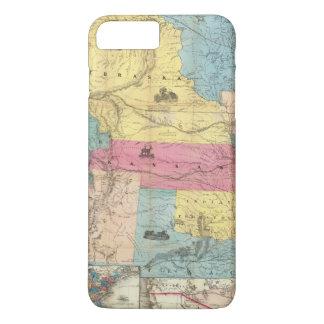 Le Nébraska et le Kansas 3 Coque iPhone 7 Plus