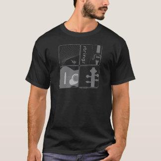 Le NEC ficelle le T-shirt (le mâle)