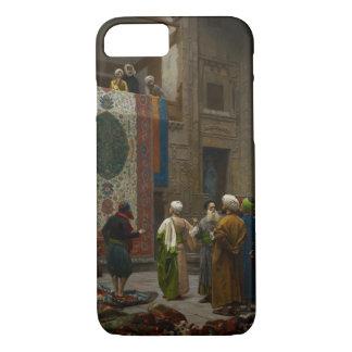 Le négociant de tapis, c.1887 (huile sur la toile) coque iPhone 8/7