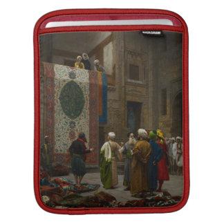 Le négociant de tapis, c.1887 (huile sur la toile) poches pour iPad