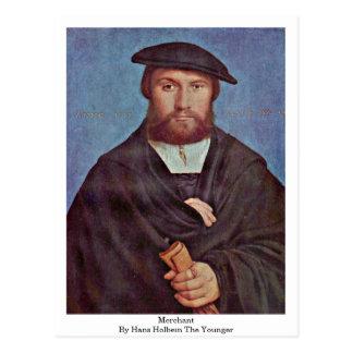 Le négociant par Hans Holbein le plus jeune Carte Postale