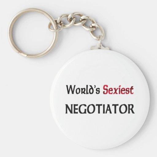 Le négociateur le plus sexy du monde porte-clef