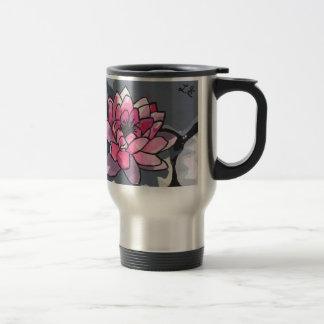 Le nénuphar mug de voyage en acier inoxydable
