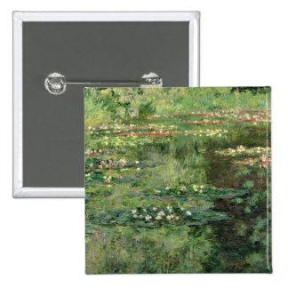 Le nénuphar Pond, 1904 Badge Carré 5 Cm