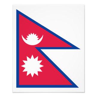 Le Népal - drapeau de Nepali Photographes
