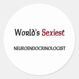 Le Neuroendocrinologist le plus sexy du monde Adhésif Rond