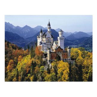 Le Neuschwanstein de fantaisie est l'un de trois Carte Postale