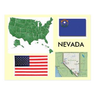 Le Nevada, Etats-Unis Cartes Postales