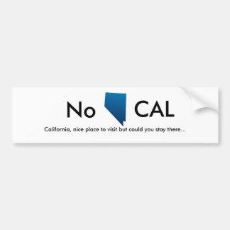 Le Nevada, non, la Californie, endroit agréable à  Autocollant Pour Voiture