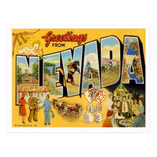 Le Nevada vintage Carte Postale