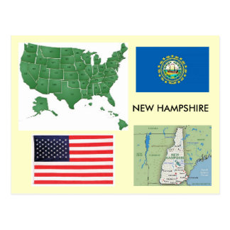 Le New Hampshire, Etats-Unis Cartes Postales