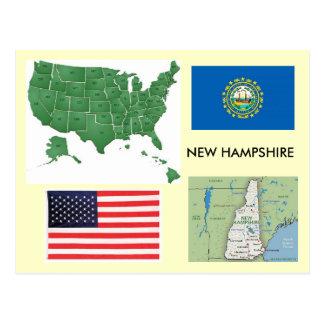 Le New Hampshire, Etats-Unis Cartes Postales