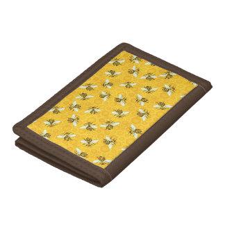 Le nid d'abeilles d'abeilles gaffent le motif de