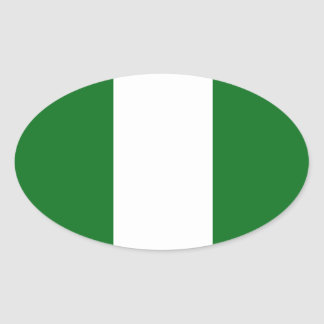 Le Nigéria Sticker Ovale