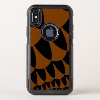 Le noir de Brown mesure la caisse de l'iPhone X