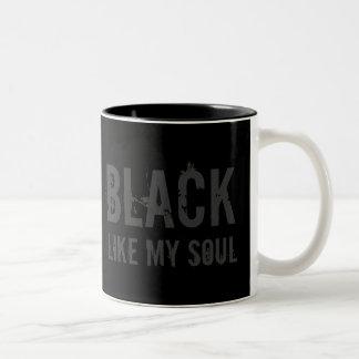 Le NOIR FINAL aiment ma tasse de café d'âme