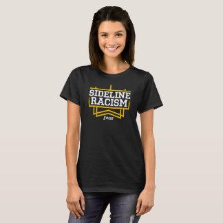 Le noir/jaune des femmes de T-shirt de racisme de