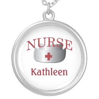 Le nom d'infirmière soigne Neklace fait sur Collier