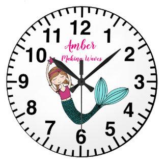 Le nom personnalisé par horloge de sirène